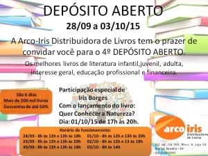 DEPÓSITO ABERTO SETEMBRO 2015-2